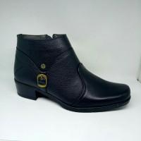 harga Sepatu Boots Wanita Kulit Kerja Fashion Scorpion Tokopedia.com