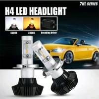 Jual Lampu Mobil Led Philips 7HL Dua Warna H4 H7 HB4 Murah