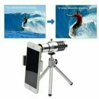 harga Phone Lensa Telescope Camera 12x  Zoom Untuk Hp Tokopedia.com