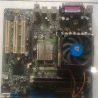 Jual Motherboard Intel Pentium 4 IV PGA 478 PGA478 Fan Kipas RAM 1GB 1 GB Murah