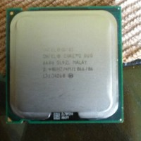 intel procesor core 2 Duo E6600 2.4 ghz