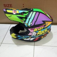 helm Jpx cros Ready To Rock