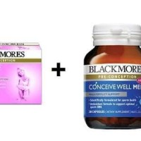 Jual Paket Blackmores Conceive Well Gold + Blackmores Conceive Well Men Murah