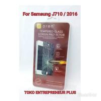 Tempered glass oren for Samsung J710/ 2016