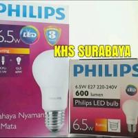 harga Lampu Led Philips 6.5 W 6.5w Philip Kuning Warm White Bohlam Bulb Tokopedia.com