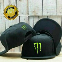 harga Topi Snapback Monster Energy Cb5 - Ls Tokopedia.com
