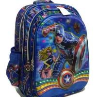 Jual Ransel SD 6D Captain America Murah