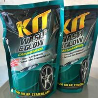 KIT WASH & GLOW CAR REFILL 800 ML SHAMPOO SHAMPO MOBIL 800ML SABUN SOA