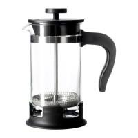 IKEA UPPHETTA Coffee Tea Maker 0.4L Alat French Press Pembuat Kopi Teh