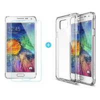 SAMSUNG GALAXY ALPHA CASE BACK COVER REARTH RINGKE FUSION TRANSPARANT