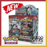 Jual Kartu Pokemon  Crimson Invasion Booster Pack + Bonus 1 Card Original Murah