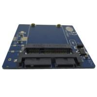 Mini PCIE mSATA SSD to Micro SATA 16 Pin Adapter Card T0310