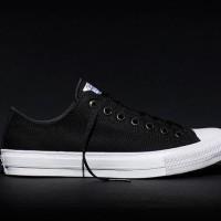 Sepatu Sekolah Converse All Star CT Chuck Taylor II 2 Lunarlon Black