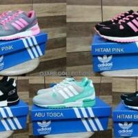 Sepatu Kets Adidas ZX 750 Untuk Joging Lari Olaharga Harian Perempuan