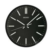 Seiko QXA521J Quiet Sweep Lumibrite Wall Clock Jam Dinding Black