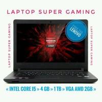 """Laptop lenovo 110-14ISK 14"""" Core i5-6200u 4GB 1TB VGA AMD RADEON 2GB"""