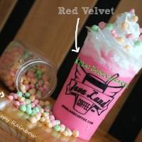 Bubuk Minuman Bubble Powder Drink Red Velvet ORIGINAL Javaland 1kg