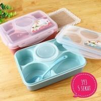 Jual [ITEM 393] LUNCH BOX YOOYEE Kotak Makan Sup 5 Sekat Bento Murah
