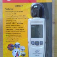 Noise test tester sound level meter digital db decibel suara