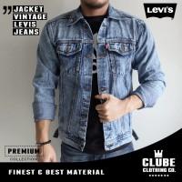 Jual Jaket jeans pria / jaket denim cowok / jaket jeans bahan levis pria Murah