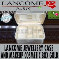 jual LANCOME JEWEL CASE AND COSMETIC KOSMETIK MAKEUP BOX EDITION GOLD