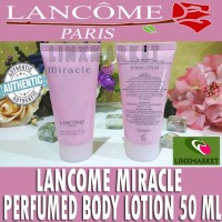 promo LANCOME MIRACLE PERFUMED BODY LOTION 50ML