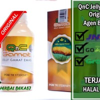 Obat Kebas Tangan Kaki Obat Sering Kesemutan QnC Jelly Gamat ASLI