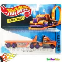 Hot Wheels Truck HITCH N HAUL Track Stars Truk Hotwheels Ori