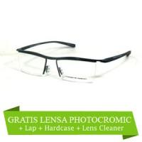 Frame Kacamata Porsche 8189 Lensa Otomatis Fotogrey (frame+lensa)