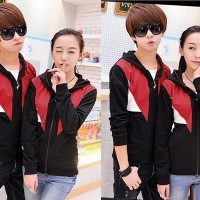 harga |ftn| Jaket Couple Hitam Kombi Merah Putih (couple Jaket Focus Cl) Tokopedia.com