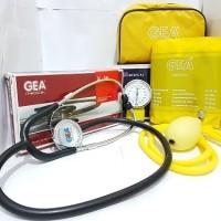 Tensimeter Aneroid GEA dan Stetoskop GEA / Ukur Tensi Darah Manual