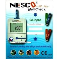Alat Nesco Cek Gula Darah / Tes Diabetes / ALL NEW NW03 Bonus strip 25
