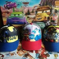 Jual | topi anak |topi captain america|topi karakter|topi spiderman| topi Murah