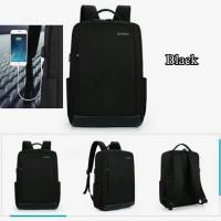 Jual Backpack Ransel Laptop Huiphoe A017 - Free Kabel Power Bank Murah