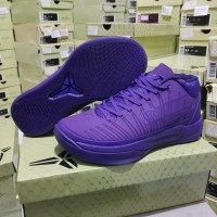 Sepatu Basket Kobe A.d ( Ad A D ) Mid Lakers Purple Ungu