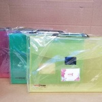 Tas Dokumen Jinjing / Document Bag Carry Case Handle / Map / Tas File