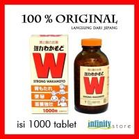 Strong WAKAMOTO JEPANG - 1000 PCS. ORIGINAL 100% JEPANG
