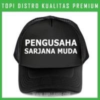 topi Pengusaha Sarjana Muda Trucker Baseball Snapback TMB1401 Distro