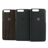 Oneplus 5 Official protective case Ebony wood, sandstone, karbon |Used
