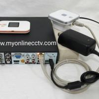 Paket Modem Bolt 1G +Acces Point DVR CCTV Online Cloud P2P Bagus Murah