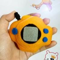 Digivice Plush Digimon Taichi Yagami Agumon Boneka Digimon