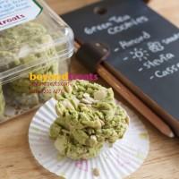 Green Tea cookies, gluten-free sugar-free vegan