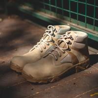 Jual sepatu proyek sepatu safety shoes sepatu boots pria murah ori bandung Murah