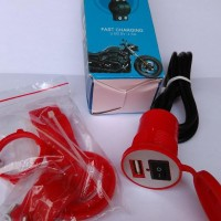 WATERPROOF...NEW Chager HP Arus Aki Motor ada On/Off DC Charger