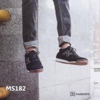 Sepatu Casual Pria Navara Carver Black | Sepatu Sneakers Pria Scr32