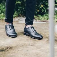 Sepatu Navara Vintage Black | Pria | Sepatu Formal | Vintage Scr32