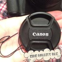 aksesoris kamera camera Tutup Lensa Canon 49mm Lensa Cap EF-M 15-45