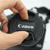 aksesoris kamera camera LENS CAP / TUTUP LENSA CANON - 52MM 55MM 58MM
