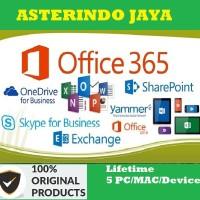 Office 365 Pro Plus 5 PC/Mac+1TB One Drive Lifetime