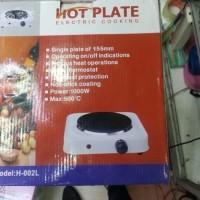 HOT PLATE H-002L KOMPOR LISTRIK 1000 WATT